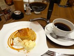 倉式珈琲さんの復活アップルパイ